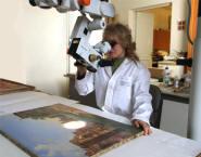 Исследование картины перед началом реставрации или копирования (34000...